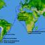 Frānsiss Dreiks uzsāka savu ceturto pasaules apceļošanu no Plimutas, Anglijā